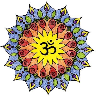 Мантра АУМ (ОМ) матрица всех звуков